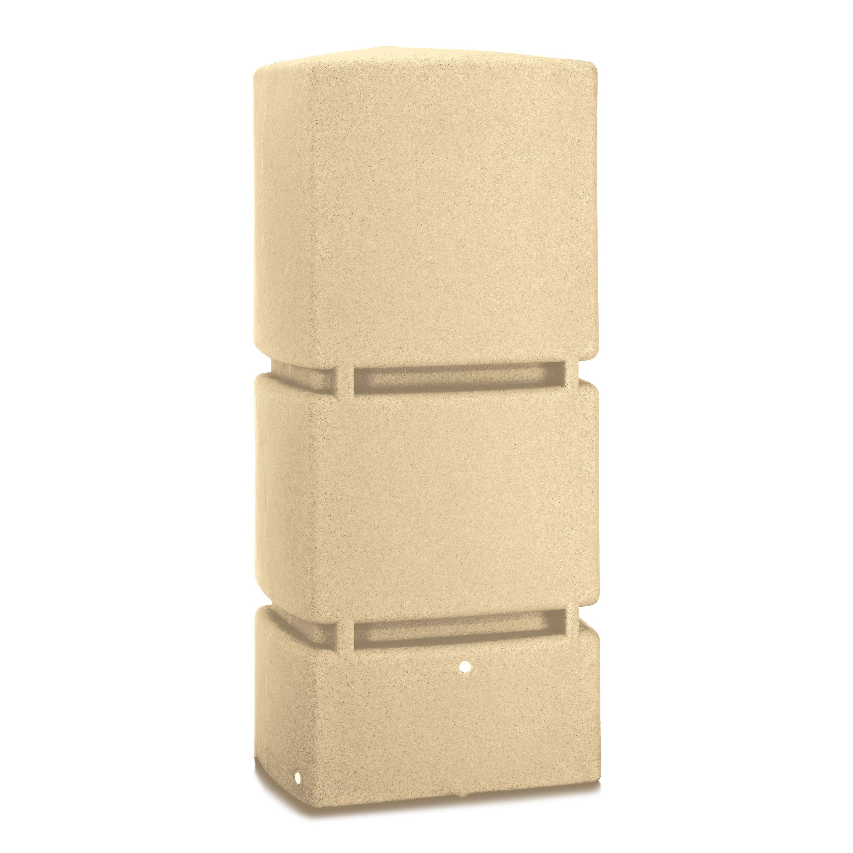 regentonne wassertank regenwassertonne jumbo sandstein 800 l ebay. Black Bedroom Furniture Sets. Home Design Ideas