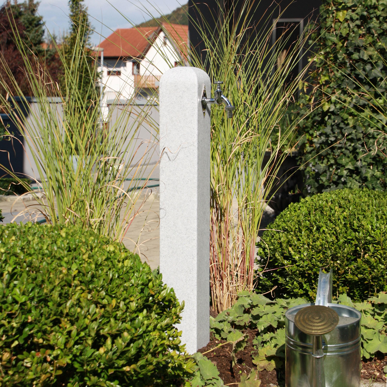 Wasserzapfstelle poller granit ebay - Wasserzapfstelle garten ...