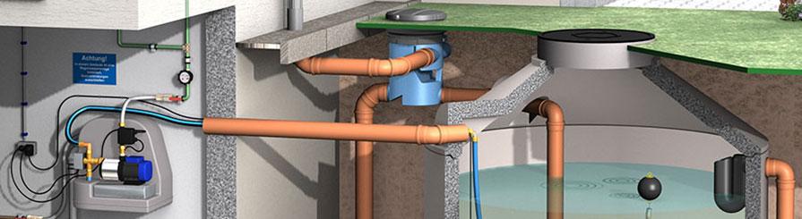 Gut gemocht Regenwasserfilter für Zisterne und Regenwassertank OS27